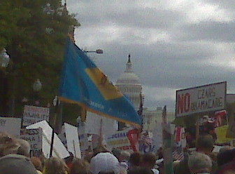 Delaware's March on 9.12 DC